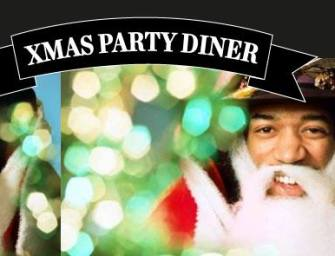 Xmas Party Diner au Burger's Banquet
