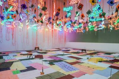 Jason Rhoades, from my Madinah : In pursuit of my ermitage, 2004