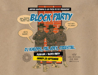 Block Party aux Puces de Fifi Turin